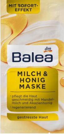 Masque Lait & Miel