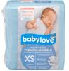 Picture of Couches Premium extra Douces Taille XS, Nouveau-né jusqu'à 3 kg, 24 Pièces