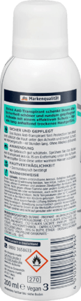 Deo Spray Déodorant Anti-transpirant 5en1 Protection