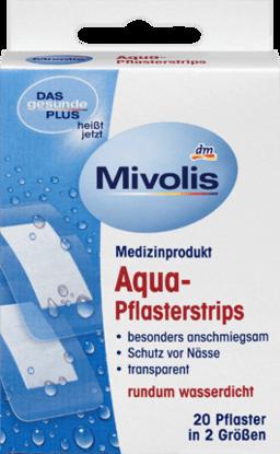 Picture of Bandes de Plâtre Aqua, 20 Pièces