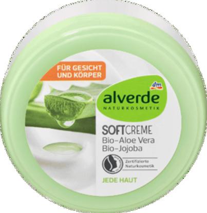 Alverde Crème Nourrissante Crème Douce BIO Aloe Vera & BIO Jojoba, 200 ml