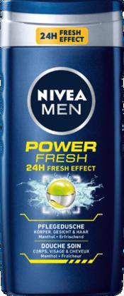 Nivea Men Gel Douche Power Refresh, 250 ml