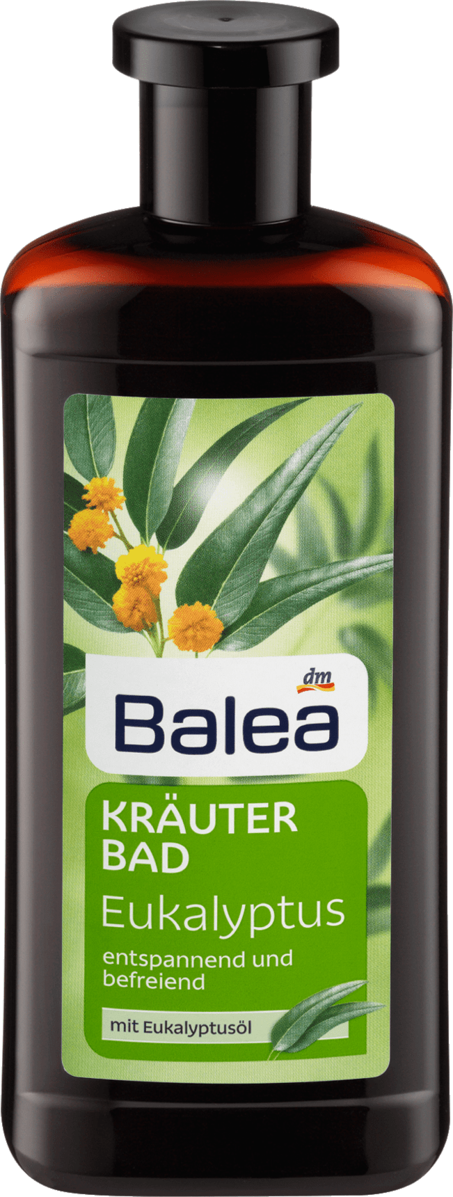 Balea Bain aux herbes eucalyptus, 500 ml
