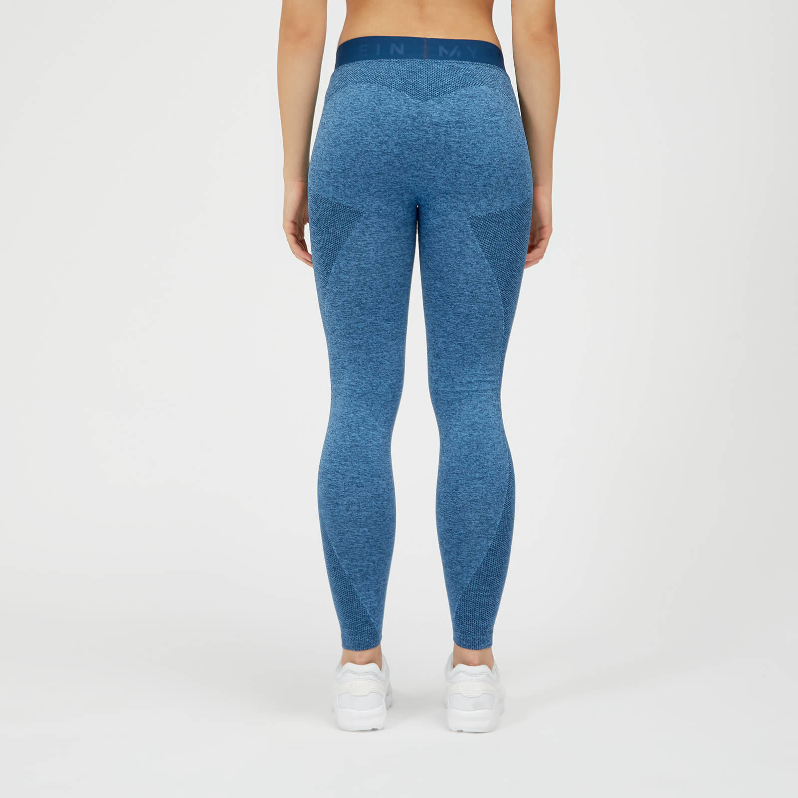 Leggings sans couture Inspire - Cyclisme pour Femme - Bleu
