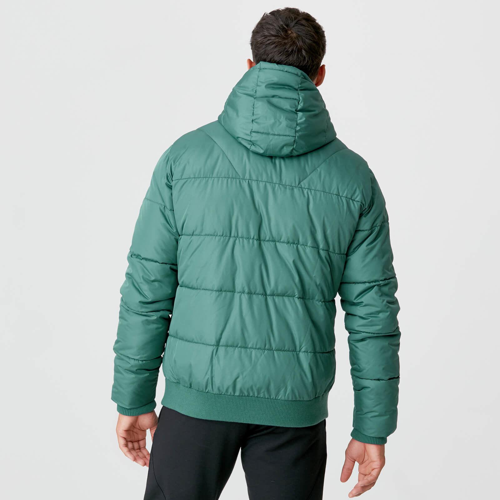 Myprotein Pro-Tech Protect Puffer Jacket - Pine | Hbito.ma