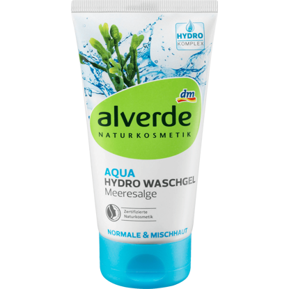 Alverde Gel Lavant Aqua Hydro Algues