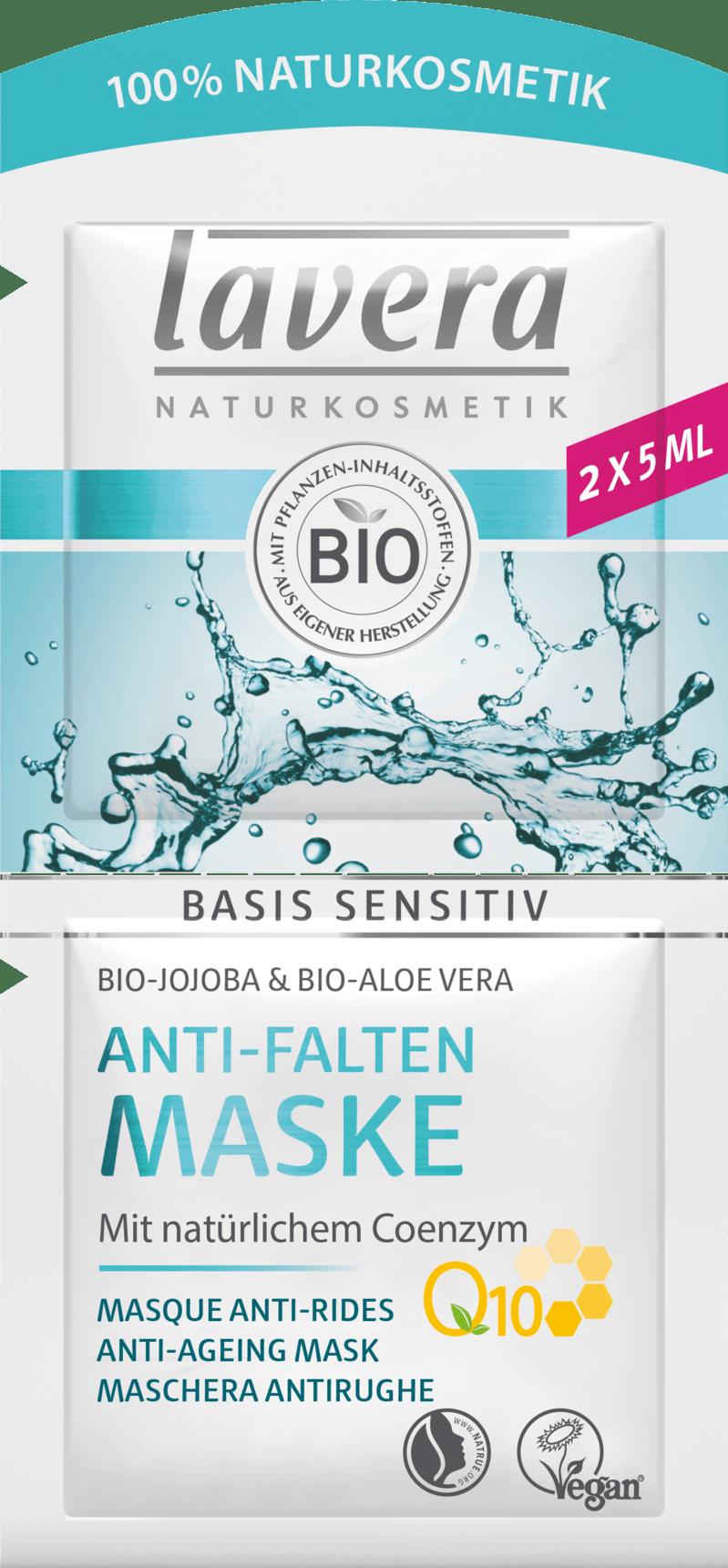 Masque Base Sensible Q10 au Jojoba bio, Aloe Vera bio & Coenzyme Q10