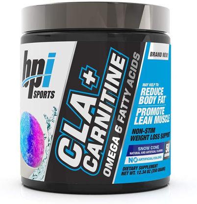 CLA + Carnitine BPI Sports, 350 G - Snow Cone