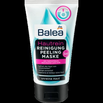Balea Nettoyage + peeling + masque de peau 3en1