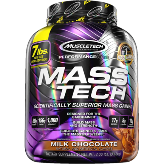 Muscle Tech MassTech Chocolate 3,18 Kg