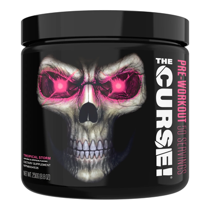 The Curse Pre-Workout Booster - Shake Pré-entrainement - 50 Servings - Tropical Strom