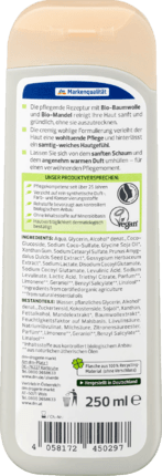 Alverde Crème Douche Coton Bio & Amande Bio, 250 ml