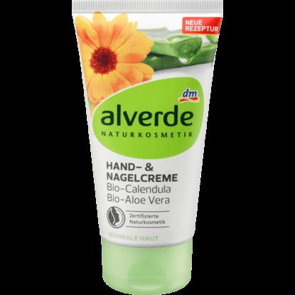 Alverde Crème pour mains & ongles Bio-Calendula, Bio-Aloe Vera, 75 ml