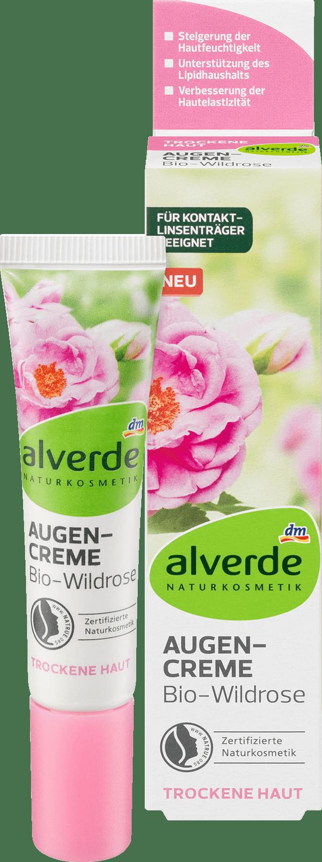 Crème Yeux Bio à la Rose Sauvage