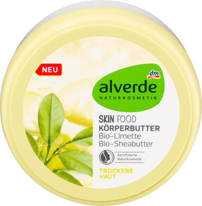 Alverde Beurre Corporel Skin Food, 200 ml