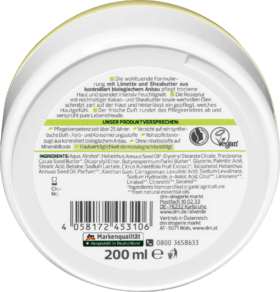 Alverde Beurre Corporel Skin Food, 200 ml