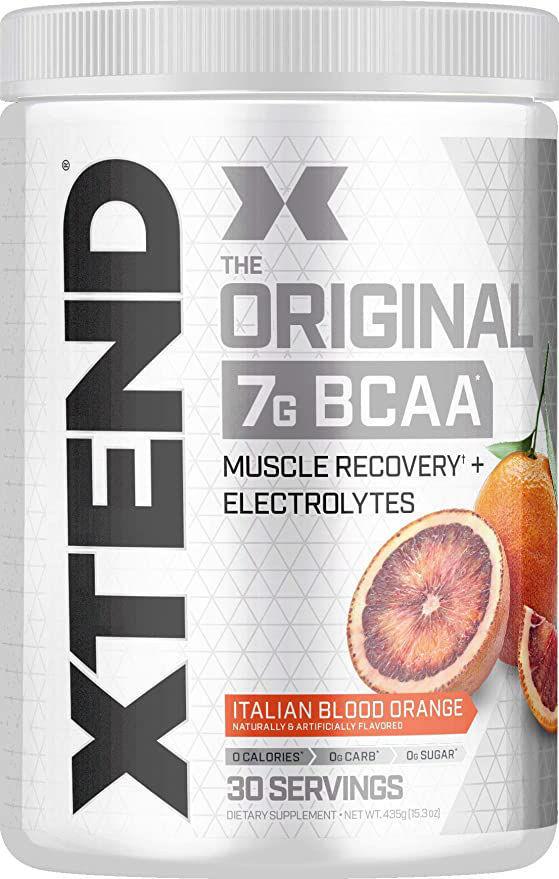 Poudre XTEND Original aux BCAA - Orange - Complément alimentaire aux acides aminés ramifiés