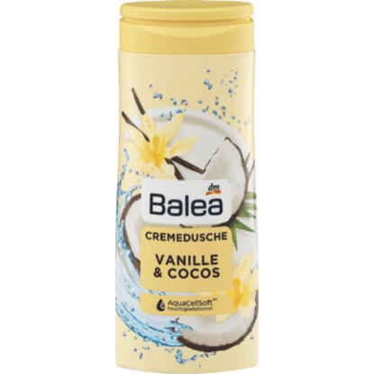 Crème Douche Vanille & Coco, 300 ml
