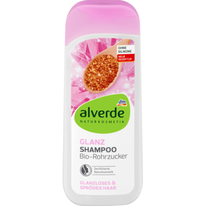 Alverde Shampooing brillance, 200 ml