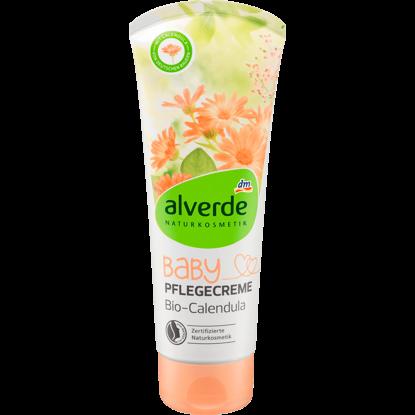Alverde Crème de soin Bébé pour Visage et le Corps au Calendula Bio, 100 ml