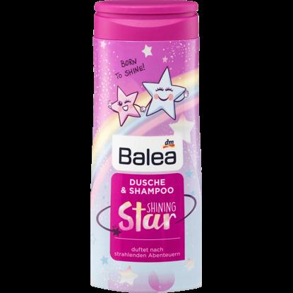 Balea Douche & Shampoing pour Enfants Shining Star, 300 ml