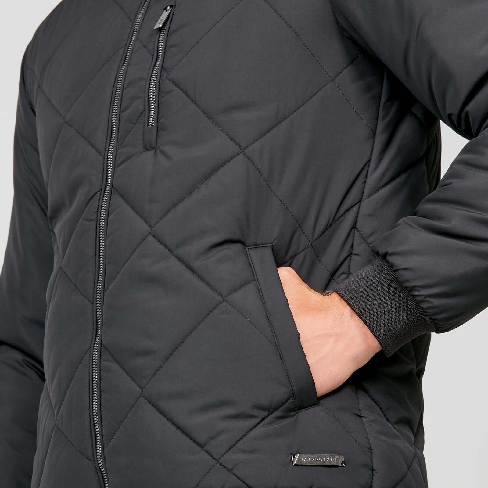 Veste Blouson Matelassé - Pro-Tech Quilted Bomber - Jacket Homme Noir
