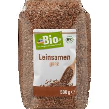 Graines de lin, entières, 500 g