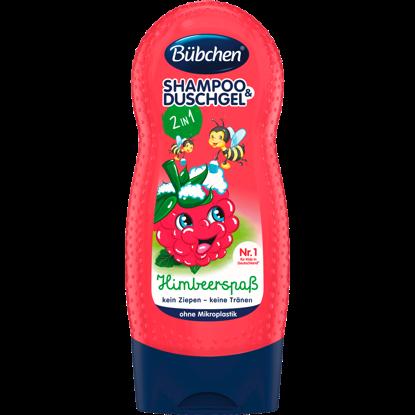 Bübchen Shampoing & Gel Douche Enfant Framboise Fun