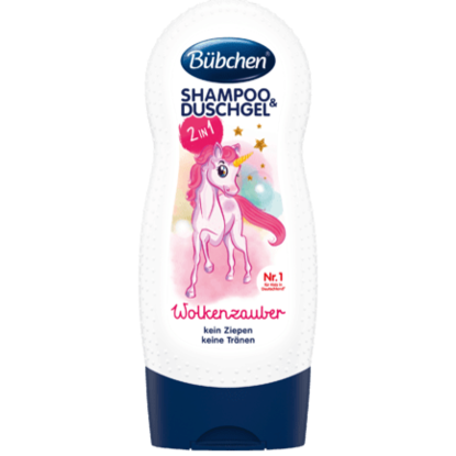Shampooing & Gel Douche Enfant Nuages Magique