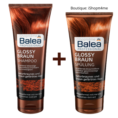 Picture of PACK Shampooing + Après-Shampooing GLOSSY BRAUN