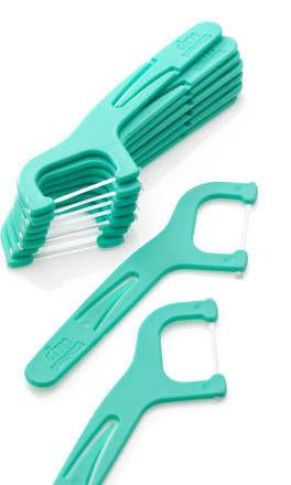 Bâtonnets de soie dentaire Sensitive avec étui