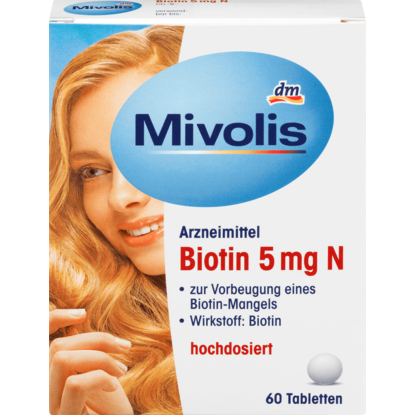 Comprimés Biotine 5 mg N