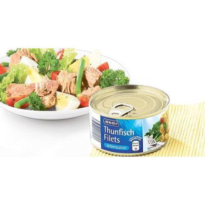Filets de thon dans leur jus et infusion