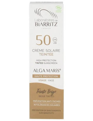 Biarritz crème solaire teintée ivoire bio SPF50